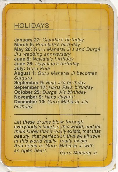 New Holy Family Birthdays
