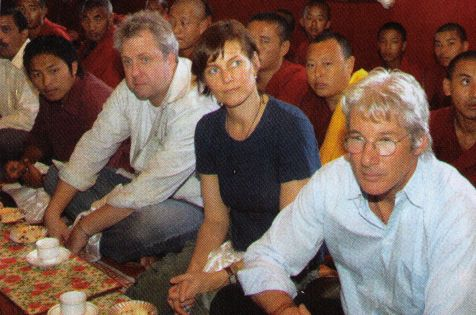 Richard Gere and monks