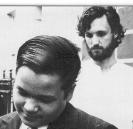Mike Finch and the young Prem Rawat (Maharaji), 1971