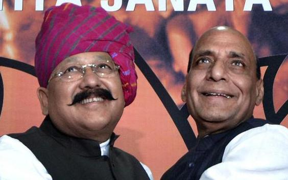 Satpal Maharaj joins the BJP