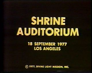 SHRINE Auditorium video