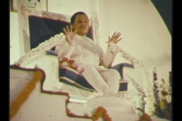 Prem Rawat On Stage At Guru Puja 1973 in London
